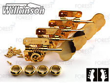 Wilkinson ® WJBL200 Bass guitar machine heads Fender ® vintage style, Gold