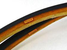 "Fulgor Tubular Tire Set Tyres 700C Vintage 27"" racing Bicycle NOS"