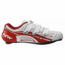 Northwave Typhoon EVO Men's Road Cycling Shoes Red/White EU 42