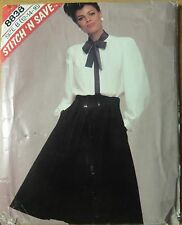 Mccall's sewing pattern no. 8838 ladies skirt and blouse size 12,14,16 unused