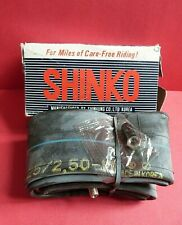 SHINKO MOTORCYCLE TUBE BUTYL SEAMLESS 2.25/2.50-17 TR-4 * NEW IN BOX * VINTAGE