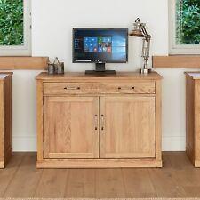 Mobel Oak Computer Desk Hidden Home Office