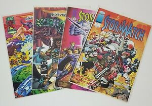 Storm Watch & The Others Image Comics Lot of 4