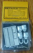 Details West HO #273  GE Detail Kit - For BNSF & NS Dash 9-44CW Locomotives