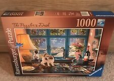 Ravensburger The Puzzlers Desk -  No. 198474 1000 Piece Jigsaw Puzzle