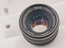 Yashica Yashinon DS-M 50mm F1.7 Pentax M42 Screw Lens For SLR/Mirrorless Cameras