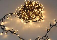 Weihnachtsbaum Lichterkette - 560 - 1500 LED - EXTRA warmweiß bunt - Innen Außen