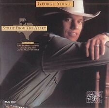 """GEORGE STRAIT, CD """"STRAIT FROM THE HEART"""" NEW SEALED"""
