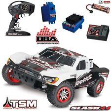 Traxxas 68086-21 White 1/10 RTR Slash VXL 4X4 Brushless SC Truck w/ TSM / OBA