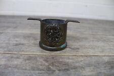 WW2 Trench Art RAF Emblem Shell Casing Pot.