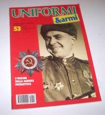 Militaria - Rivista Uniformi e Armi - N° 53 - luglio agosto 1995
