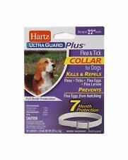 Hartz UltraGuard Plus Flea Tick Collar Dog Puppies Water-Resistant Kills Repels