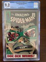 Amazing Spider-Man #55 CGC 9.2 (Marvel 1967)  Doctor Octopus appearance.  Beauti
