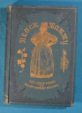 Black Mammy A Song of the Sunny South Poems Visscher 2nd Ed 1886