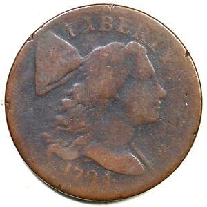 1794 Liberty Cap Large Cent Coin 1c