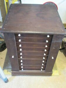 10 Drawer Pine Cabinet Entomology Taxidermy Lepidoptera Butterfly Moth Insect