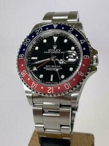 Rolex GMT-Master 16700 Pepsi from 1991