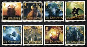 Isle of Man Stamps 2003 SG 1116-1123  Lord of the Rings Film Trilogy Mint MNH