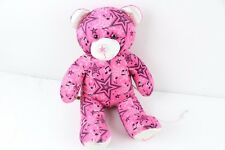 Build A Bear Pink Music Star Plush Bear With iPod IPhone Aux Speaker