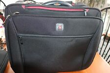 "WENGER SwissArmy Wheeled Computer Case/Bag/uggage 4 sections  hold 2-17"" compute"