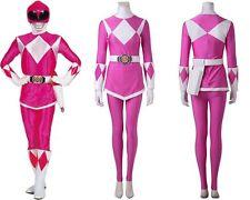Pink Mighty Morphin Power Rangers Ptera Ranger Cosplay Costume Handmade