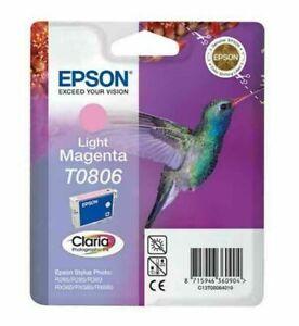 T0806 Genuine Epson T0806 Light Magenta inkjet cartridge Hummingbird 🕊