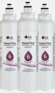(3) Genuine LG LT800P ADQ736134 Refrigerator Water Filter Replacement Cartridge