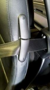 BMW Z3 E36 Roadster 96-02 Seat Belt Guide Black Upper Back LEFT GENUINE