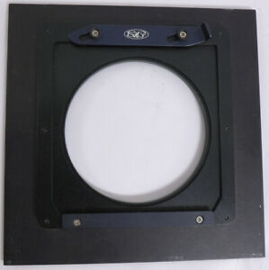 SK Grimes 6x6 inch lens board 82mm opening light use large format adapter NR