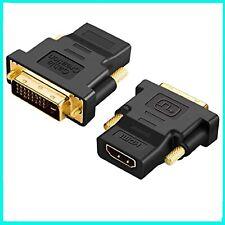 ADATTATORE CONVERTITORE DA DVI-D DUAL LINK MASCHIO A HDMI FEMMINA CAVO PER PC TV