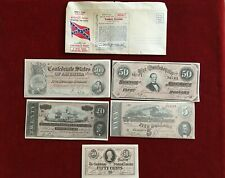 SOUVENIR CONFEDERATE MONEY -YANKEE LICENSE TO ENTER THE SOUTH WITH PAPERS1