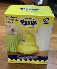 RARE 3 Ft Gemmy Airblown Inflatable PEEPS CHICK Always in Season Yard Decor