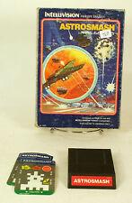 Vintage Boxed Intellivision Game Astrosmash Tested & Working