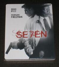Seven Se7en Japan Blu Ray Steelbook Limited Collectors New Region A Sealed