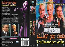 KILLER PER CASO TRUFFATORE PER SCELTA (1998) vhs ex noleggio