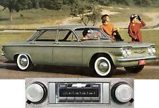 New USA-630 II* 300 watt '60-64 Corvair AM FM Stereo Radio iPod, USB, Aux inputs