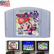 Mario Party 1 Video Game Cartridge Console Card For Nintendo N64 US Version Gift