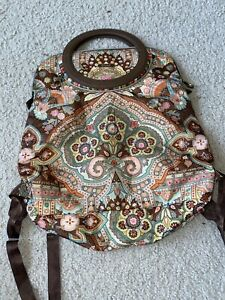 OILILY Adjustable City Backpack Floral