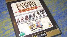 Empire Earth 1 collection allemand Incl. ère des conquêtes Platine PC
