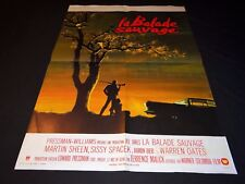 LA BALADE SAUVAGE Terrence Malick   affiche cinema  1973