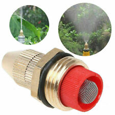 Garden Irrigation Kit Brass Misting Nozzle Water Spray Mist Cooling Sprinklers