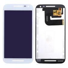 écran LCD unité complète pour Motorola Moto G 3. gén. XT1540 XT1541 blanc, NEUF
