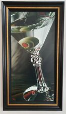 Thomas Arvid - Classic Martini FRAMED Limited Edition Giclee