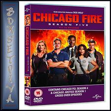 Chicago Fire Season 5 Series Five Fifth (jesse Spencer) DVD Region 4