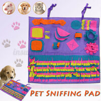 Dog/Puppy/Pet Toys Snuffle Mat Puzzle Sniffing Nose Training Pad Washable