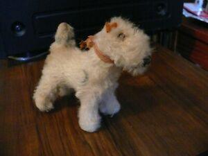 Vintage Steiff Tiny Foxy Fox Terrier Dog