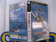 PSP GAME BATTLE AIRPLANE ZERO (ORIGINAL USED)