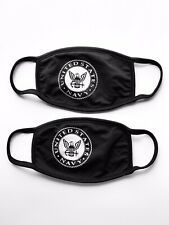 US Navy Face Mask | Multi Layer Fabric | Handmade In USA | 2 pack