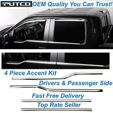 Putco 97504 OEM Match Grade Window Trim Kit for 2011 Ford F-150 Super Crew Cab