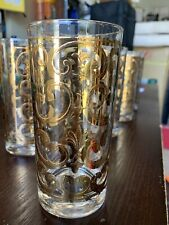New listing Georges Briard Gold Filigree Collins Glasses